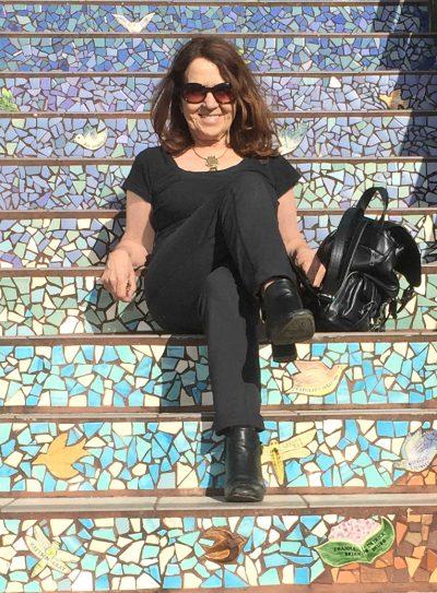 bilingual tour guide Lorraine Walker